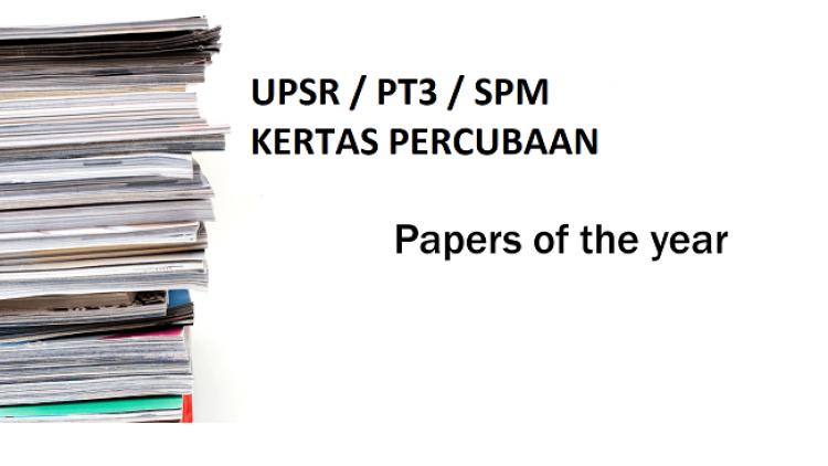 Koleksi Koleksi Ujian Percubaan UPSR 2018